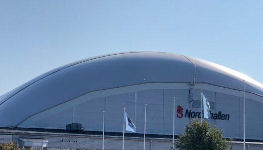 Airdome över Nordichallen i Sundsvall