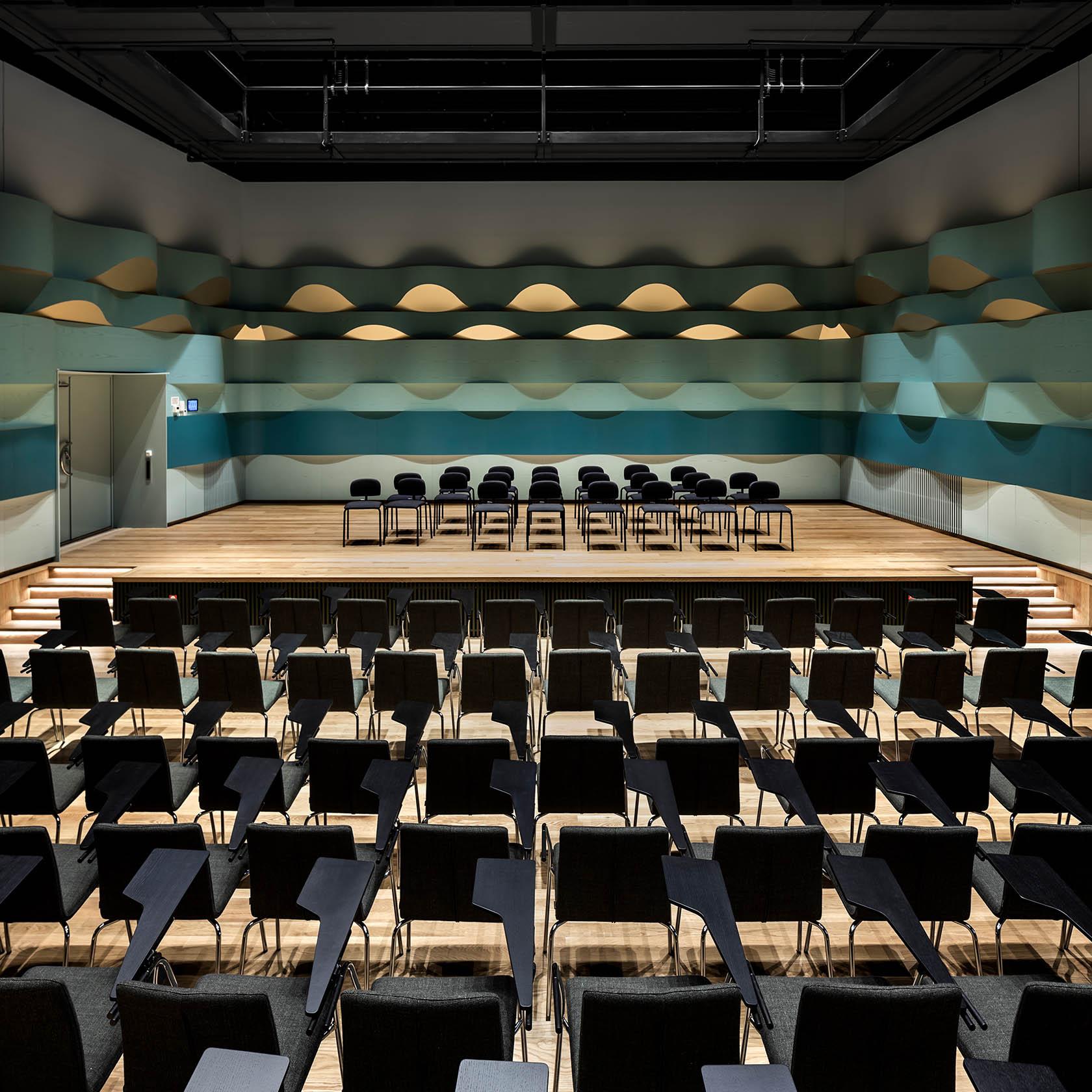 Aula i Kungliga Musikhögskolan