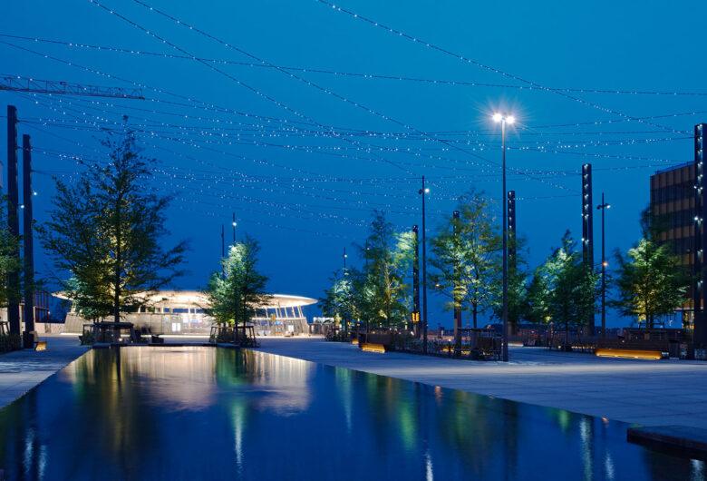 Hyllie Torg i Malmö
