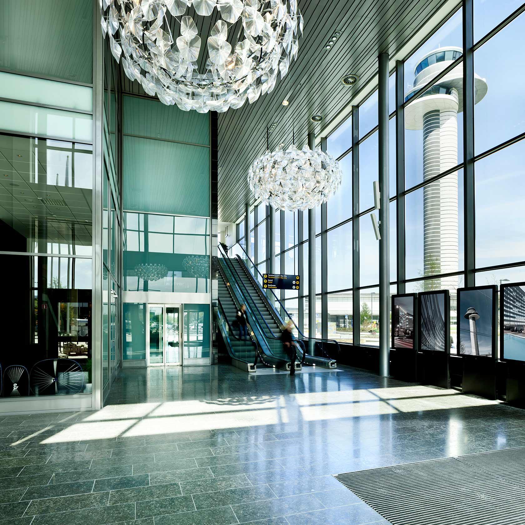 Hall på Clarion hotel Arlanda