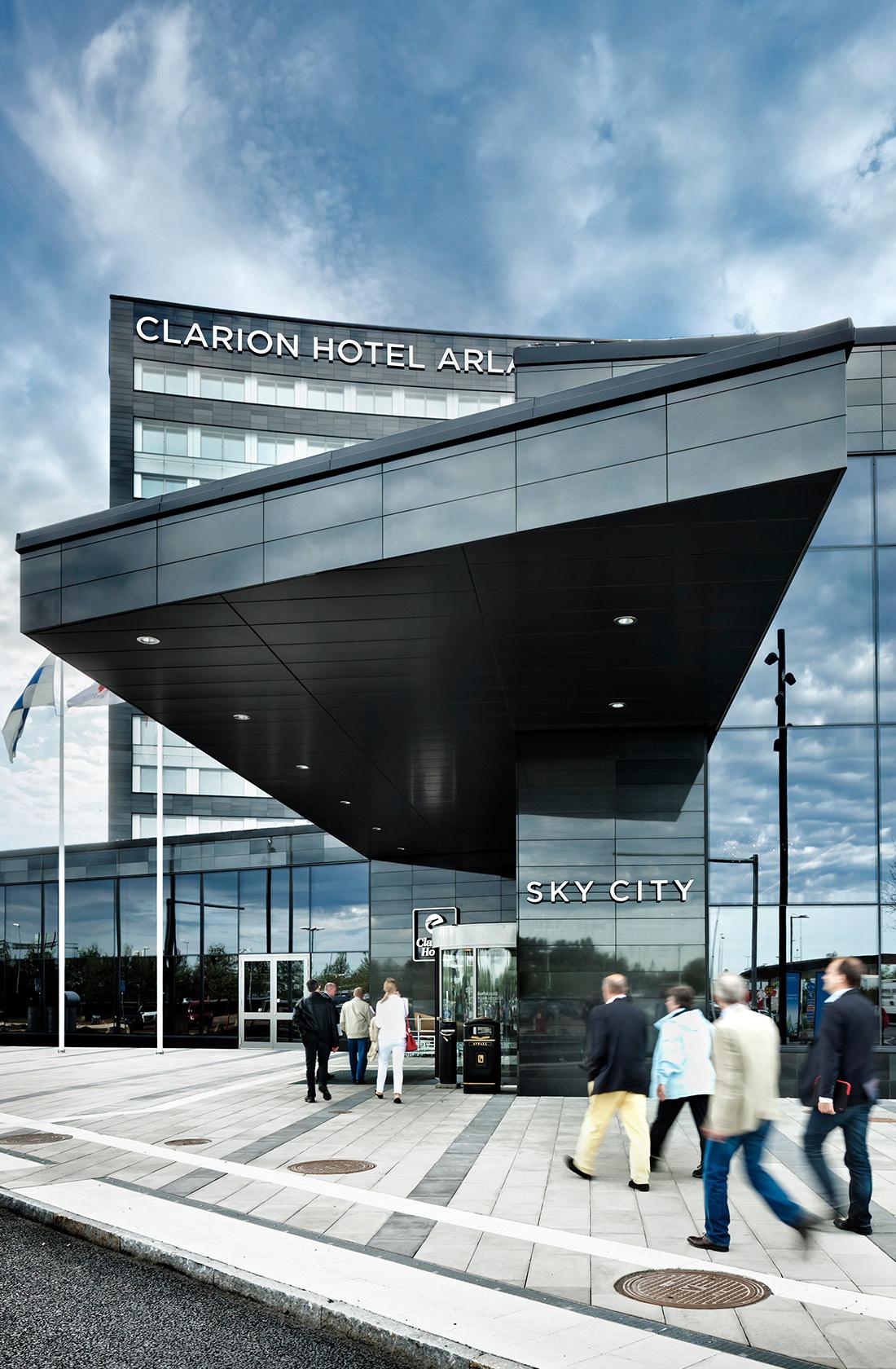 Entré till Clarion hotel Arlanda