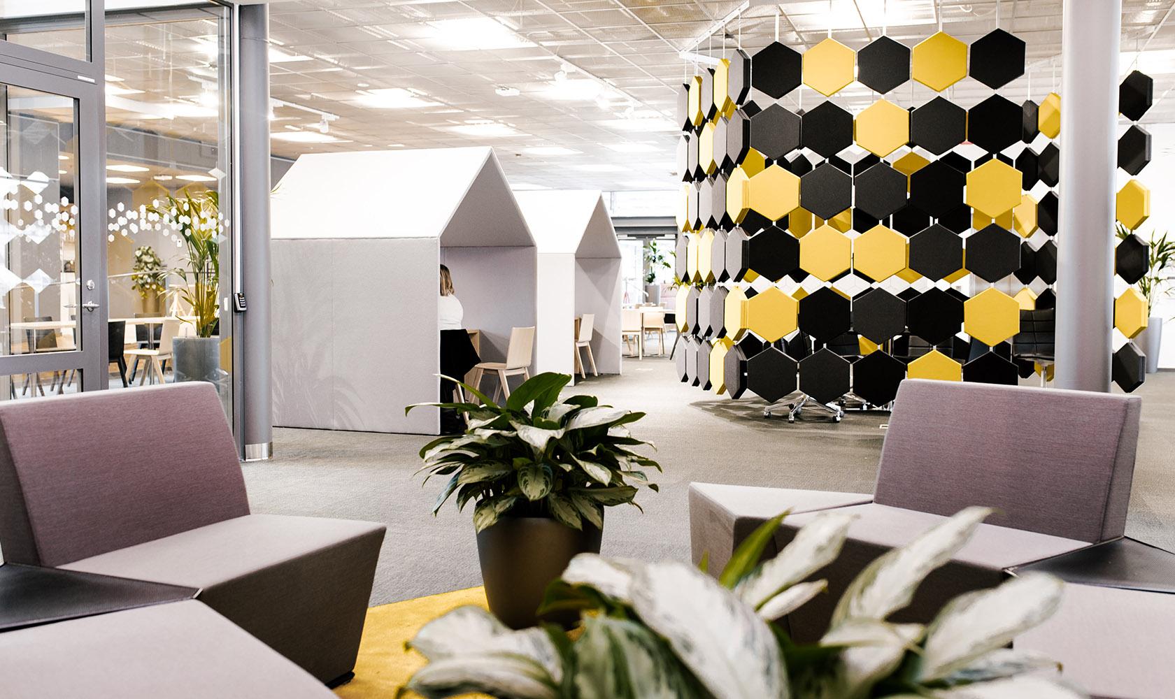 Kontoret av Epiroc i Örebro