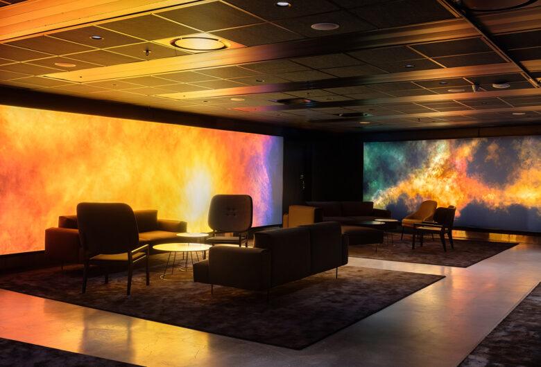 Ericsson Globe premium lounge