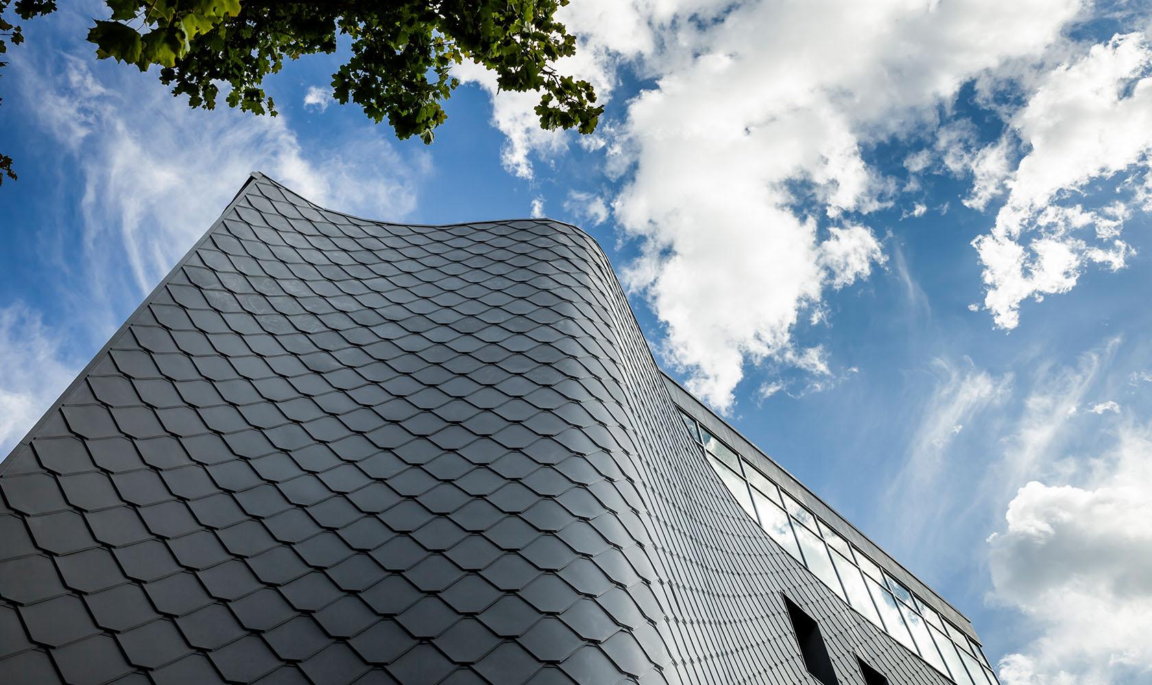 Fasadbild av Kv Lokstallet