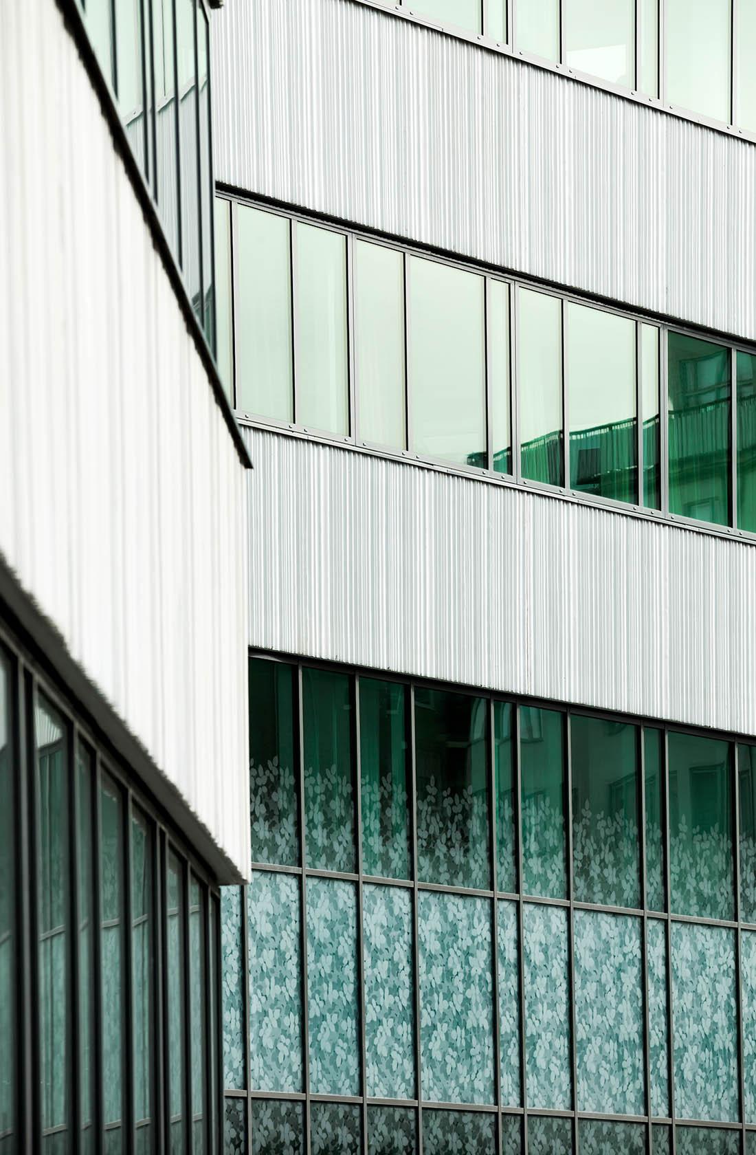 Frostat fönster