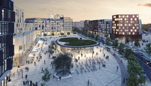 Visualisering stadsutveckling