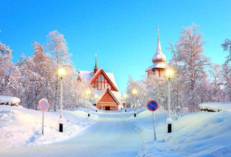 kiruna om vintern
