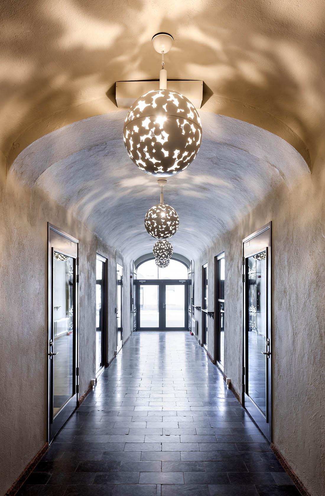 Korridor på Teaterkvarteret Sundsvall