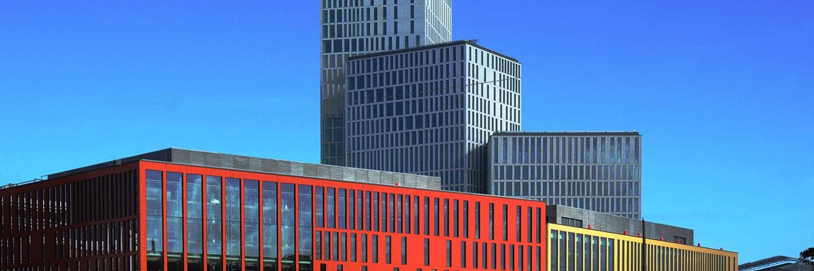 Byggnad i färger