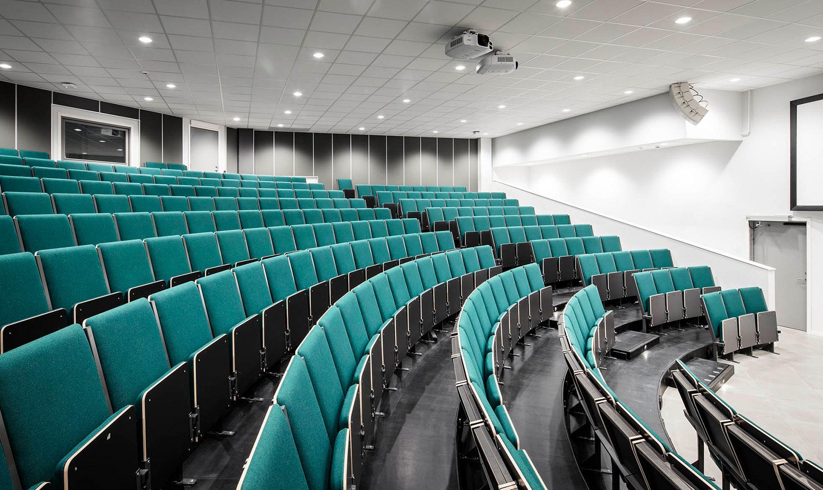 hörsal i Minerva Gymnasium