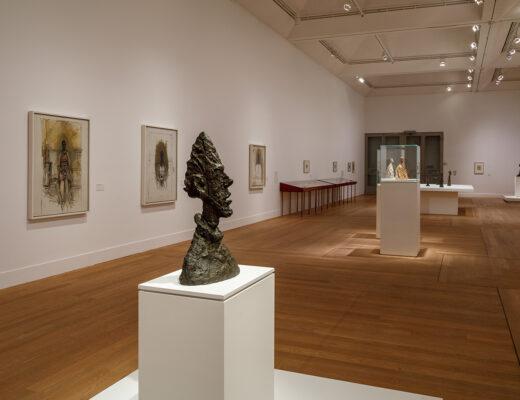 Moderna Museet utställningssal. Foto: Sten Jansin.