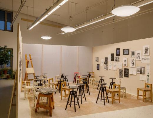 Moderna Museet - verkstad för de yngre konstnärerna. Foto: Sten Jansin