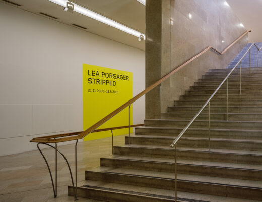 Moderna Museet trappbelysning. Foto: Sten Jansin