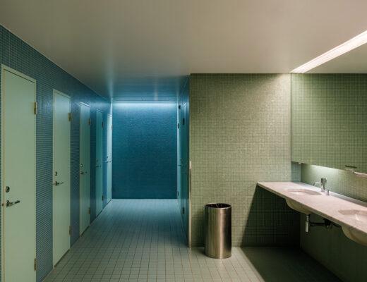 Moderna Museet - toalettbelysning. Foto: Sten Jansin