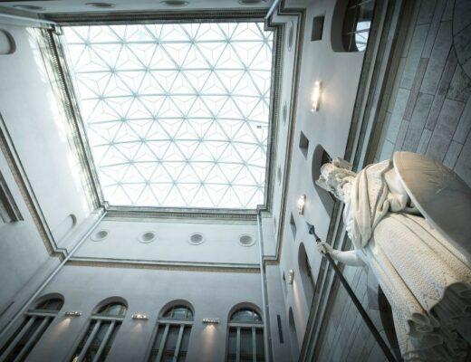 Nationalmuseums glastak
