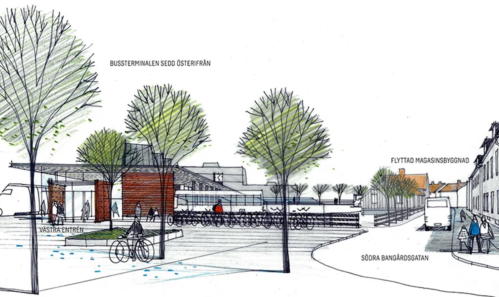Vision av Nyköping resecentrum