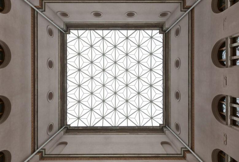 Nationalmuseums glastak.