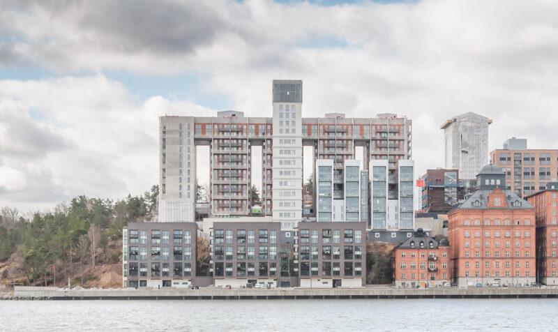 Bild på Stockholm Lighthouse i dagsljus