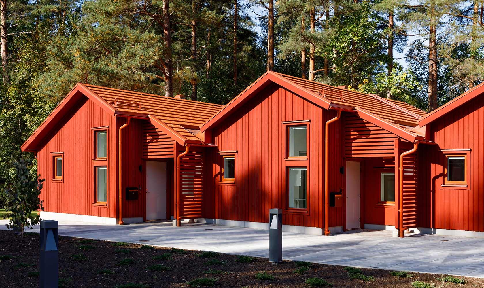 Utomhusmiljö för boende på socialpsykiatrin i Zakrisdal