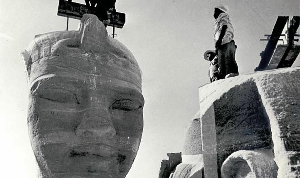 Abu Simbel flyttas