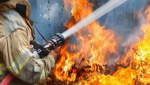 brandsläckningsarbete