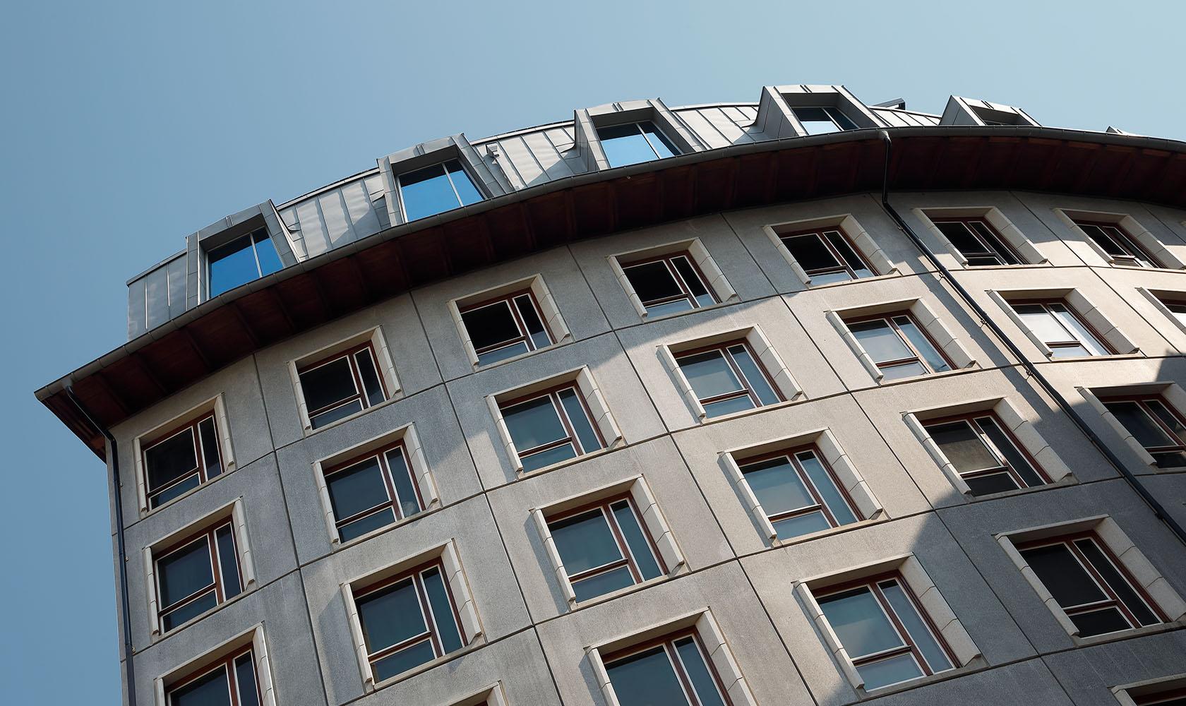Fasad på Blique by Nobis