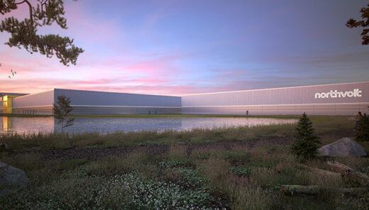 Northvolts batterifabrik i Skellefteå