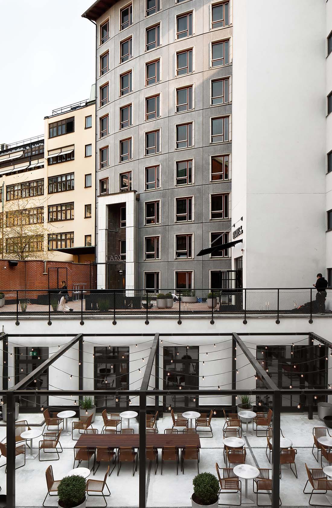 Utvändig miljö Blique by Nobis