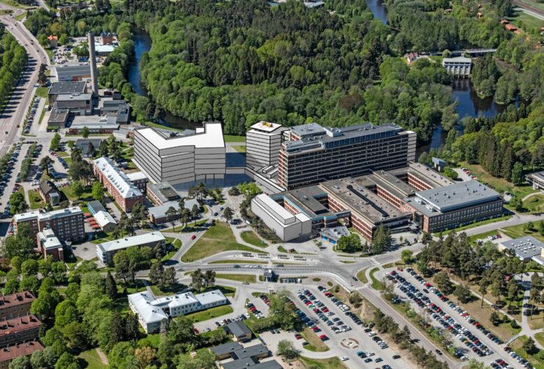 Konceptbild tillbyggnad sjukhus