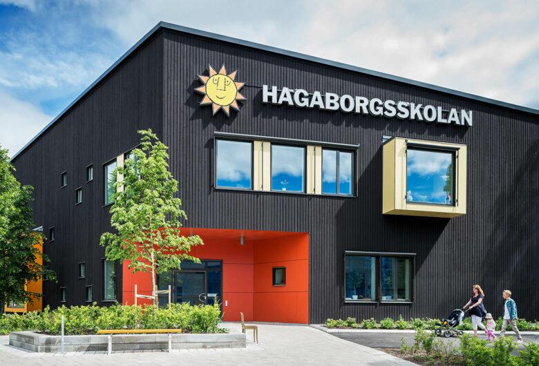Entré till Hagaborgsskolan