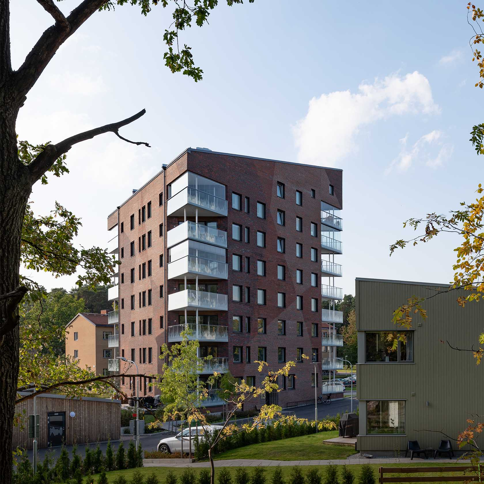 Lägenhetshus och parhus