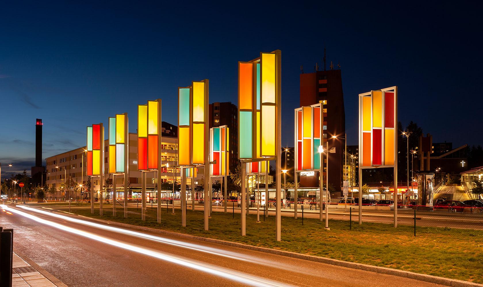 Ljusdesign Flemingsberg