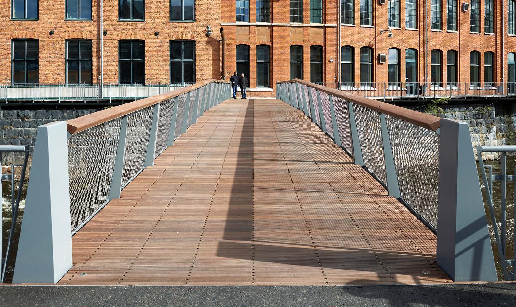 Ingång på Kåkenhusbron