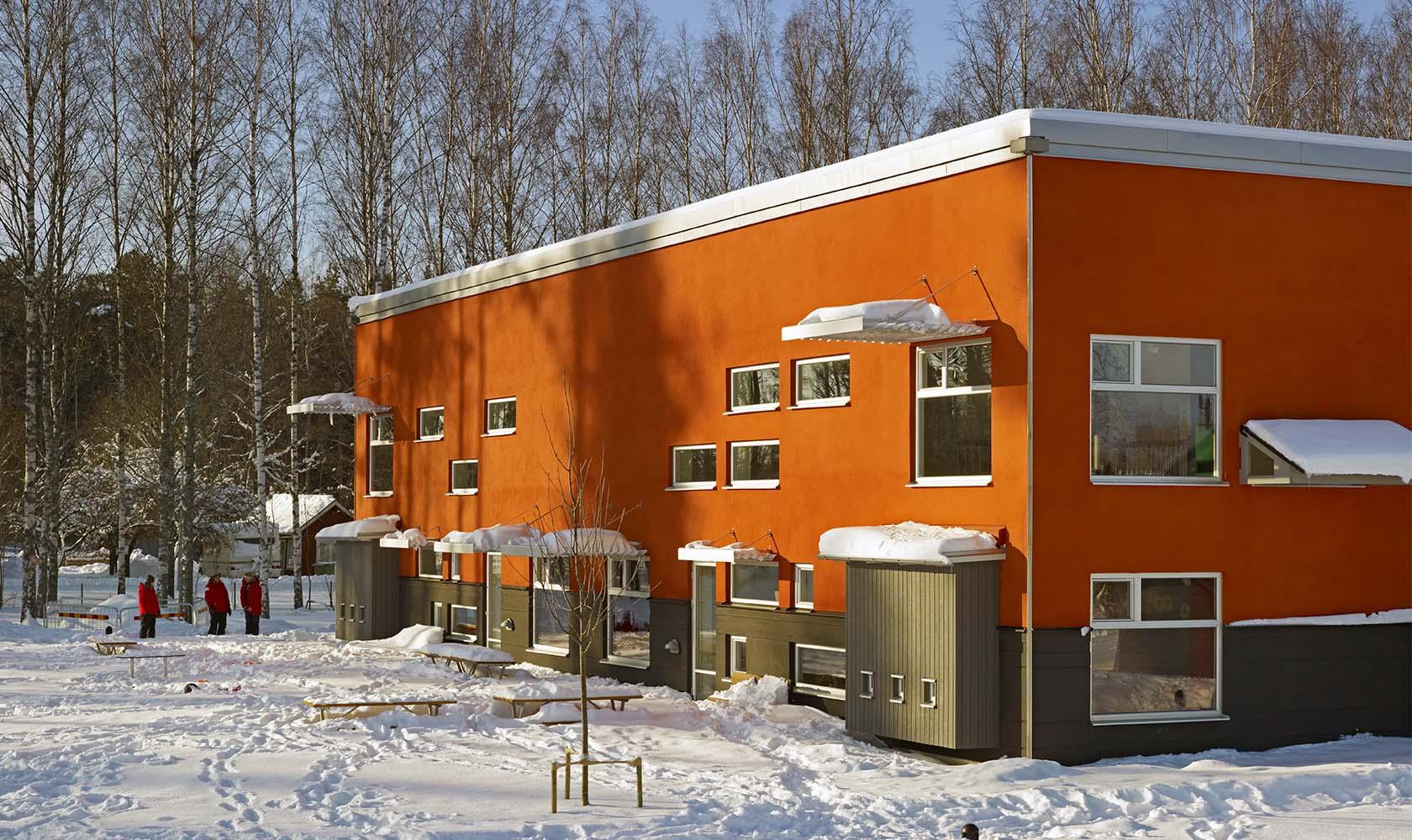Matildelunds förskolas fasad