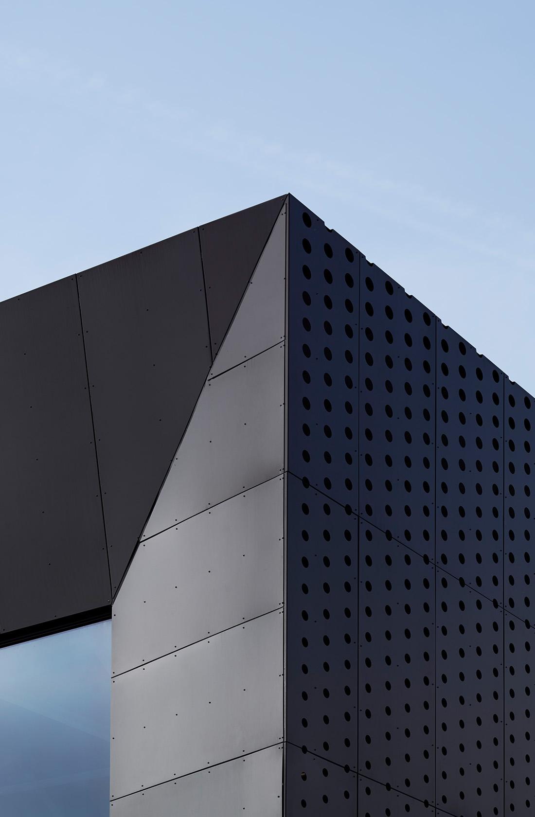Fasad på Ystad Arena