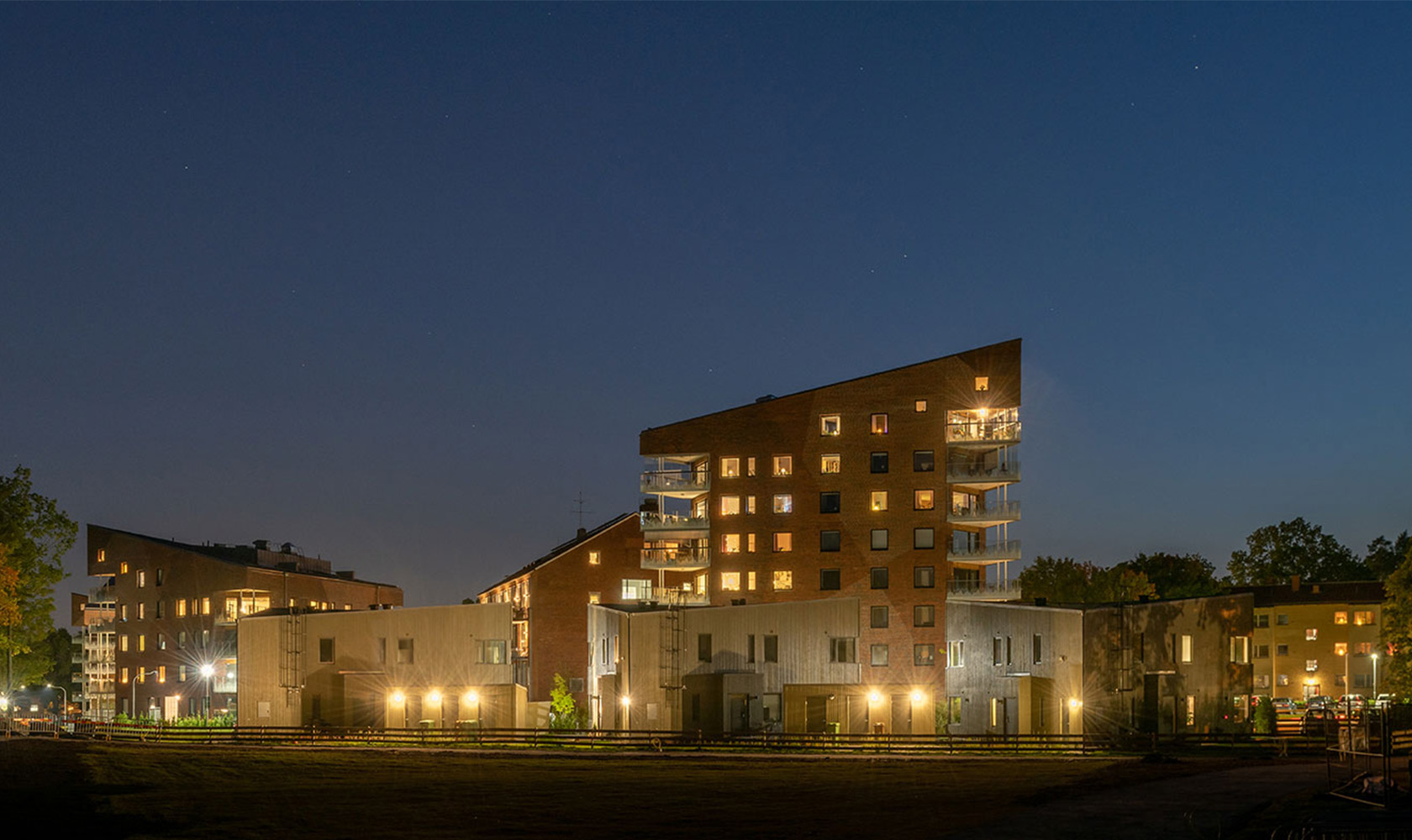 Lägenheter och parhus i Kungsljuset