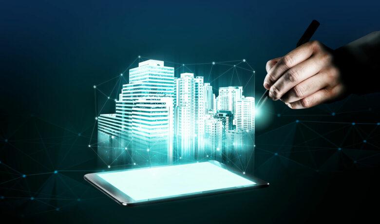 illustration av byggnad