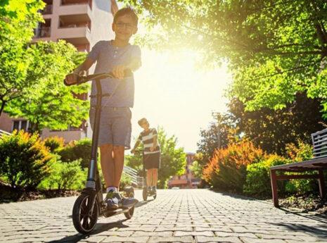 Pojke cykel